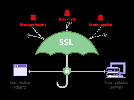 نحوه عملکرد ssl در امنیت وبسایت