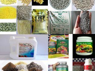 فروش کودهای کشاورزی با حمل و ارسال رایگان به سراسر کشور به محل شما